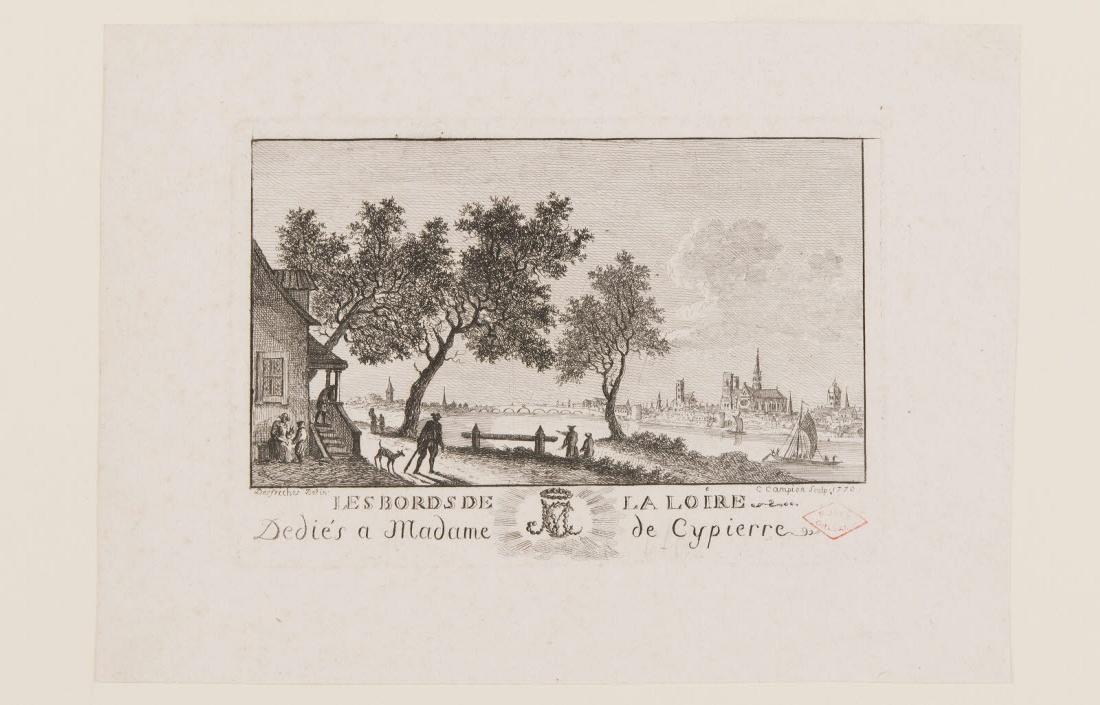 Les bords de la Loire dédiés à Mme de Cypierre_0