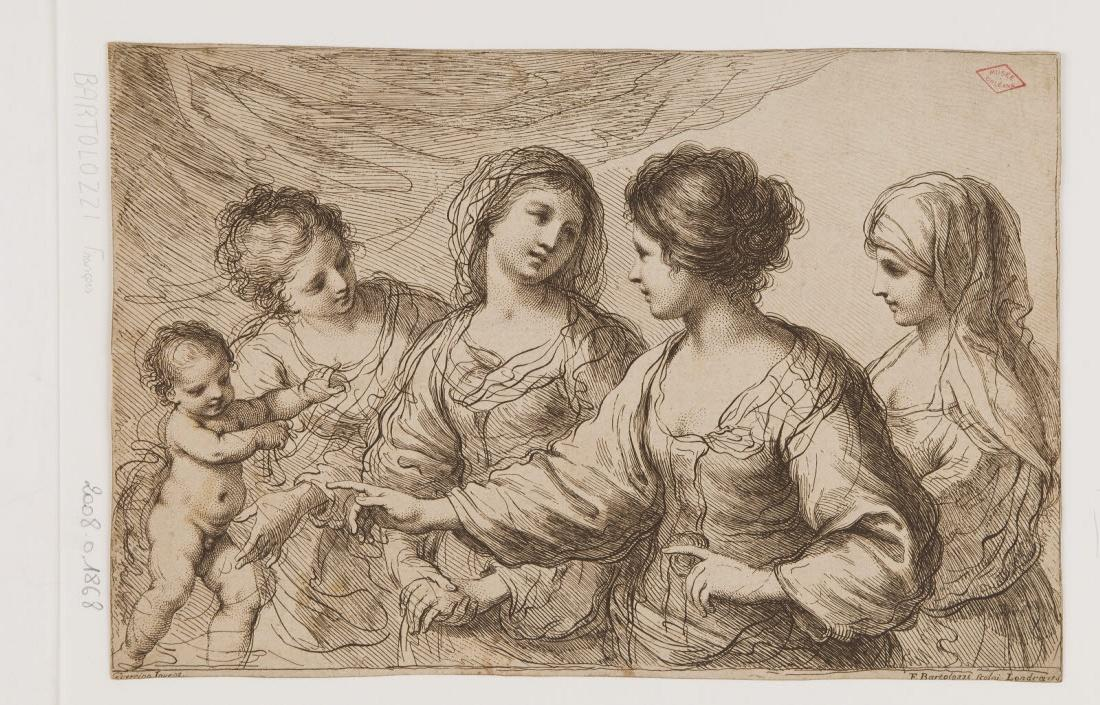 Quatre femmes et un enfant (Conversation sacrée ?)_0