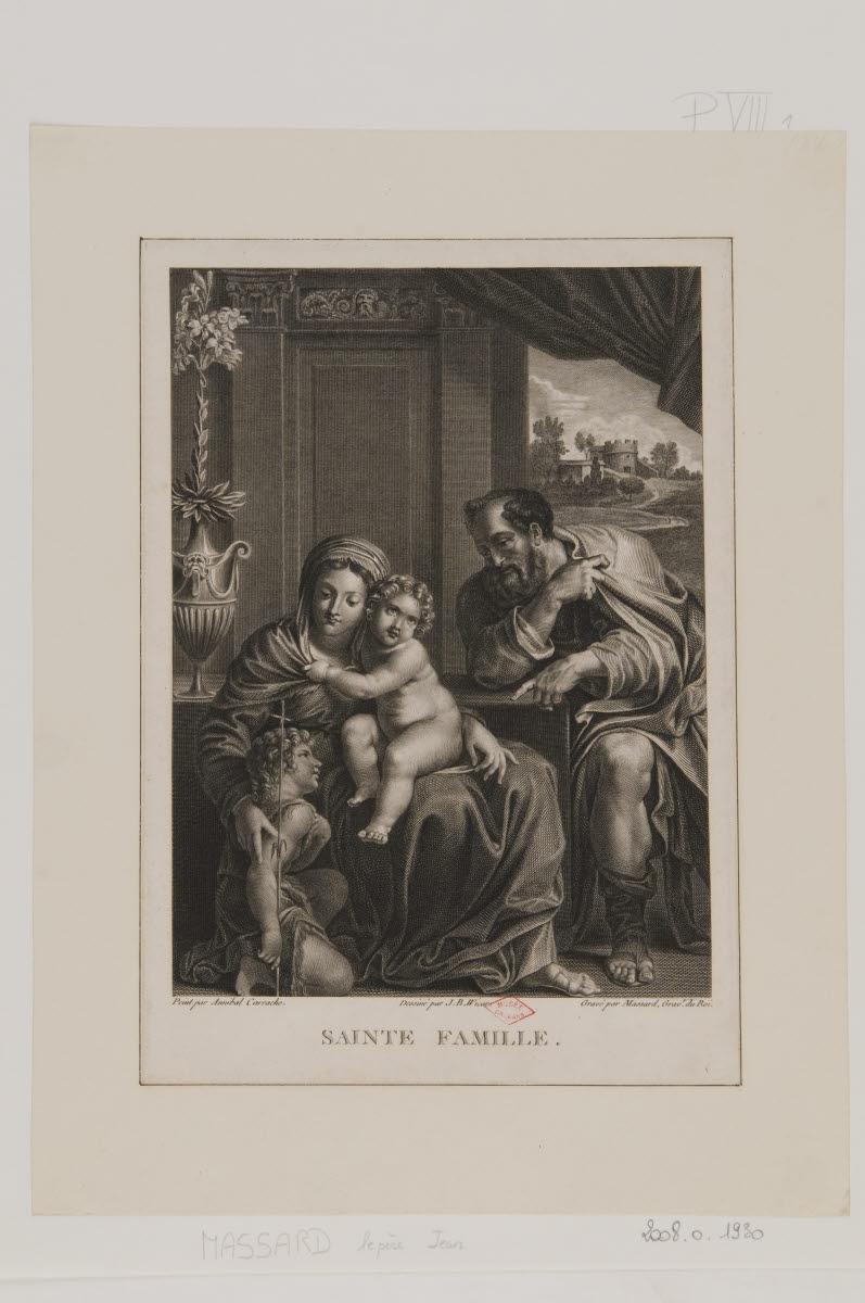 Sainte Famille avec saint Jean-Baptiste_0