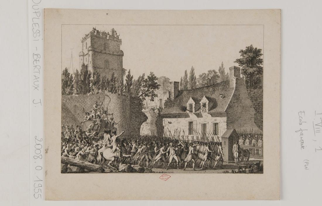 Besenval conduit dans un vieux château fort, à Brie-Comte-Robert_0
