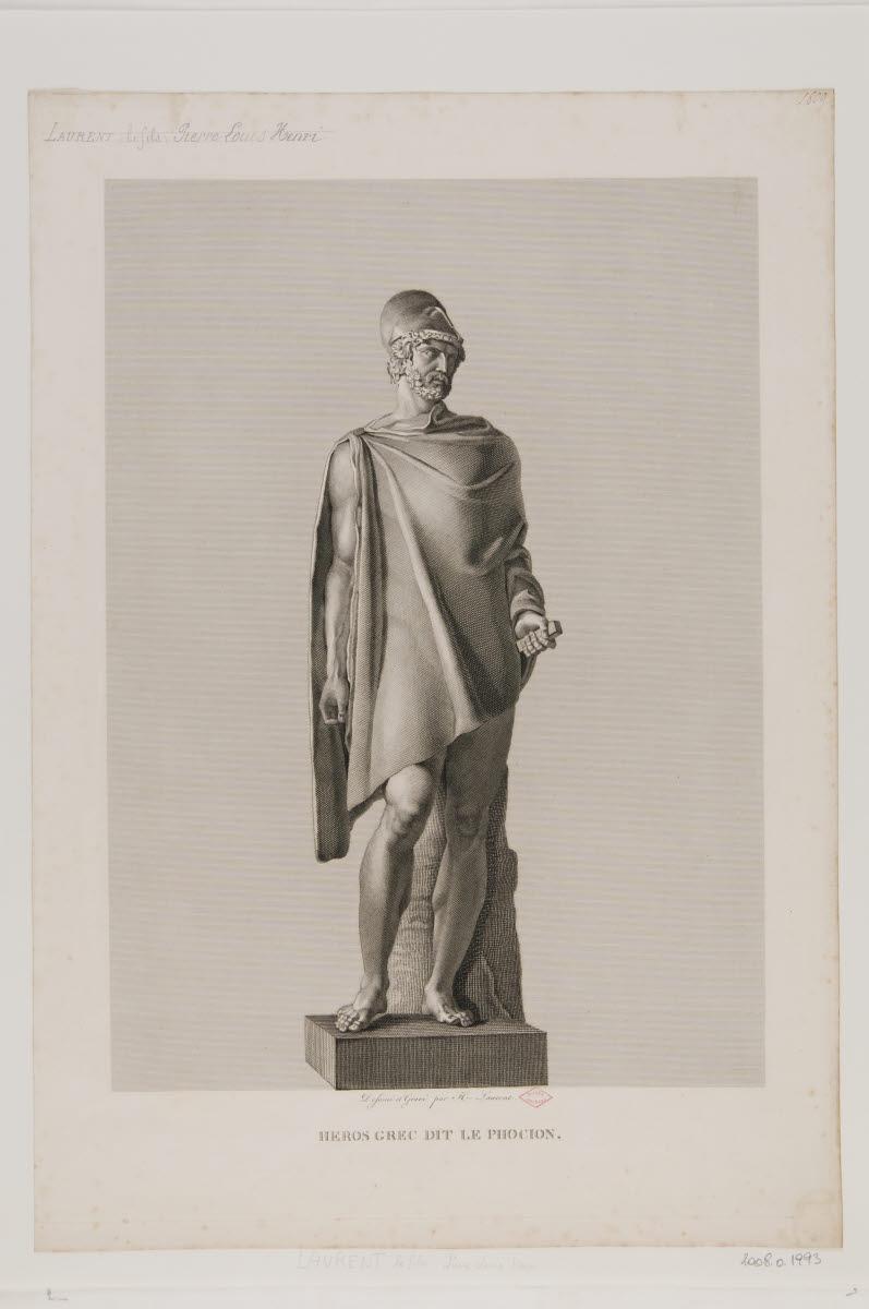 Héros grec dit le Phocion_0