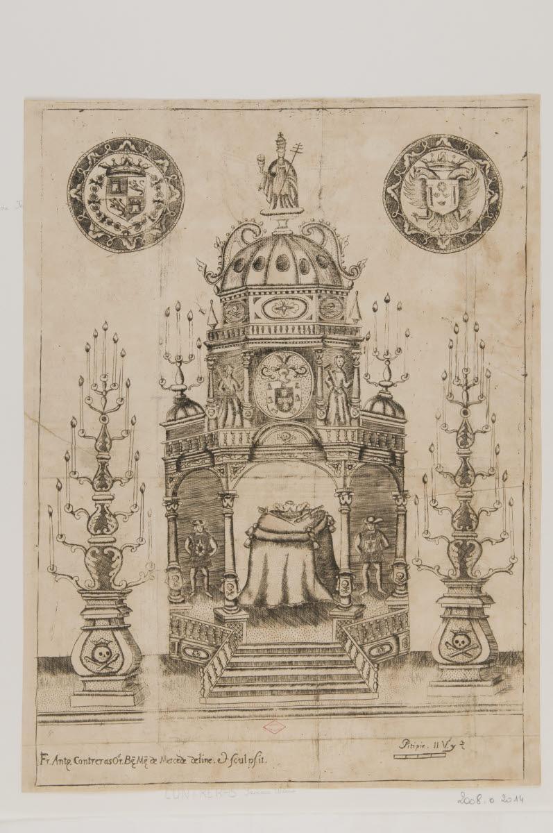 Catafalque de Jean V, roi du Portugal_0