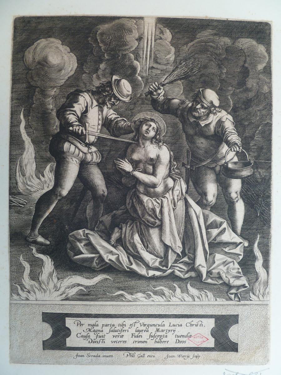 Martyre de sainte Lucie_0