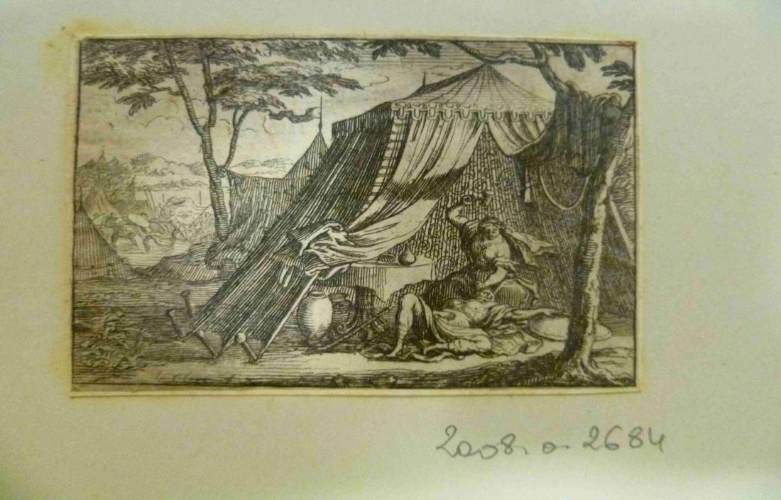 LECLERC Sébastien II (graveur), SERCY Charles de (éditeur), FINE DE BRIANVILLE Claude Oronce (écrivain) : La défaite de Sisara