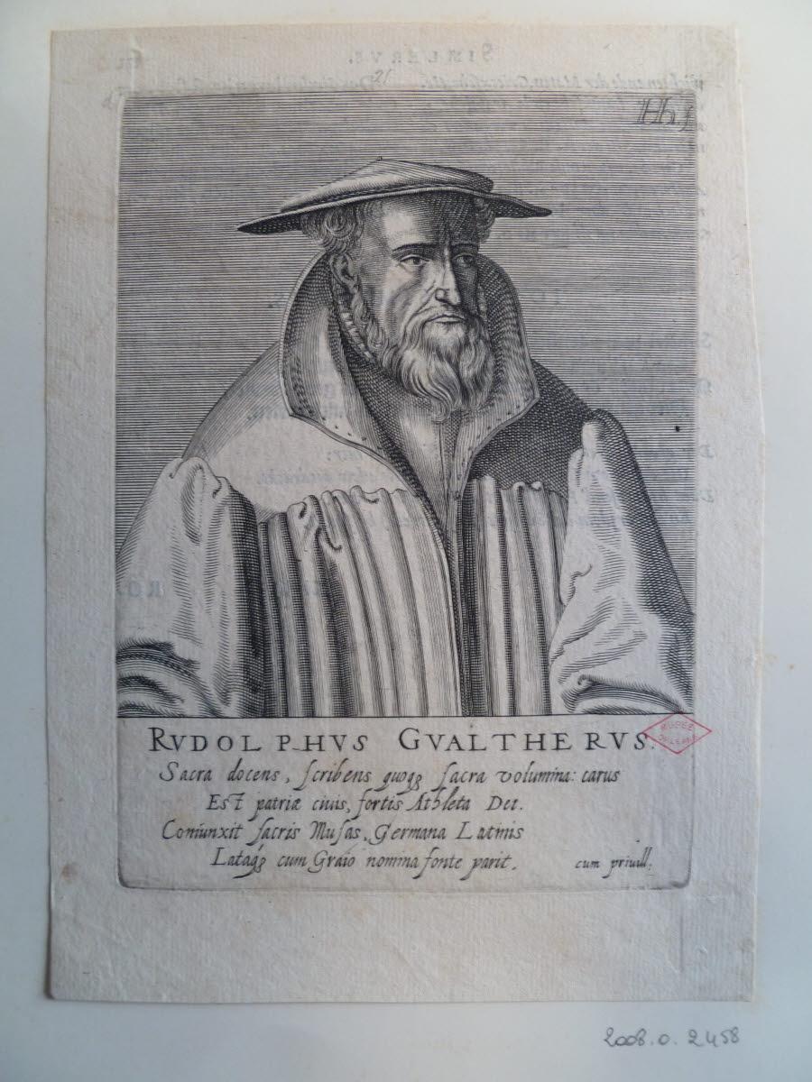 Portrait de Rudolf Gwalther_0
