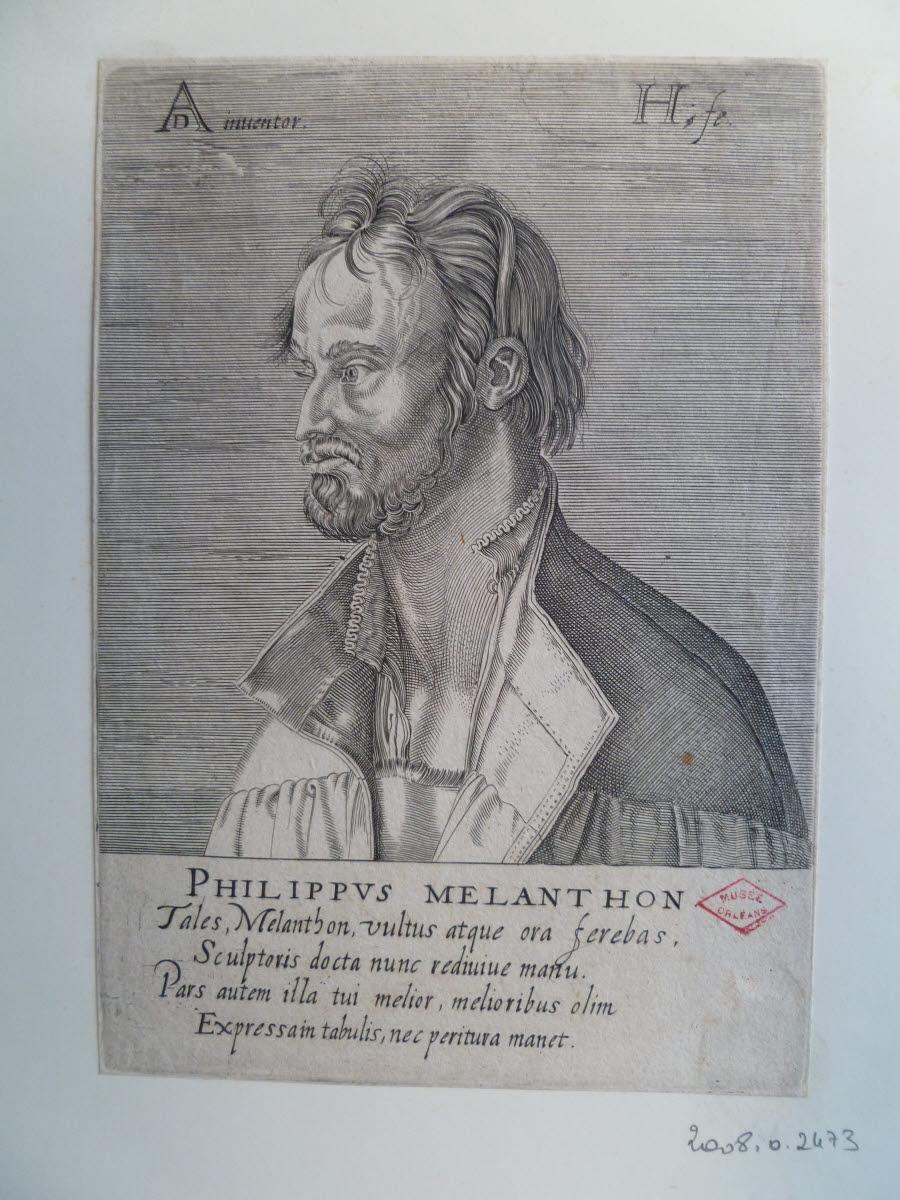 Portrait de Philipp Schwarzerd dit Philipp Melanchthon_0