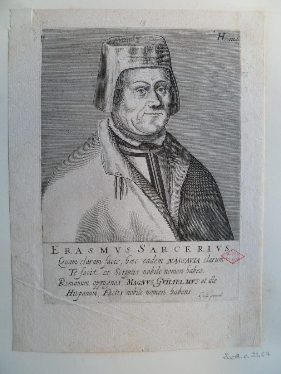 Portrait d'Erasmus Sarcerius_0