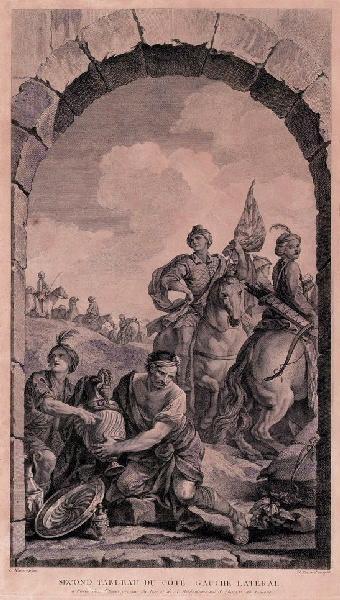 FESSARD Etienne (graveur), NATOIRE Charles Joseph (d'après, peintre) : Adoration des mages