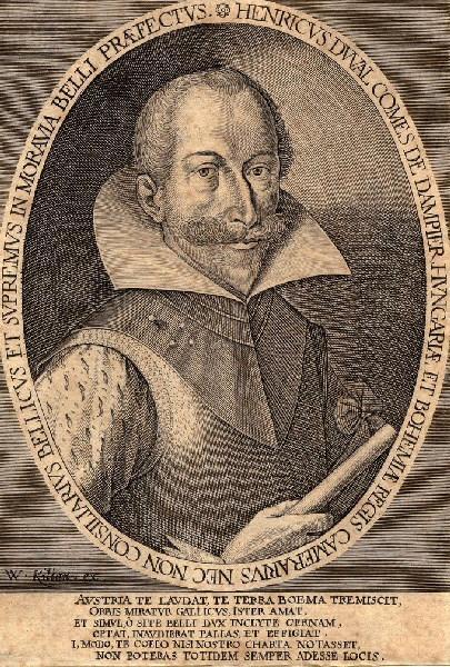 KILIAN Wolfgang (graveur) : Portrait d'Henri Duval comte de Dampierre