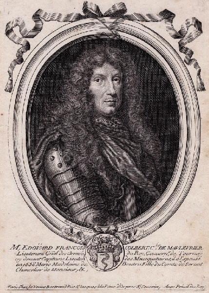 Portrait d'Edouard François Colbert, comte de Maulévrier