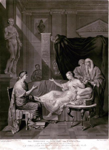 L'entretien d'Auguste et Cléopâtre_0