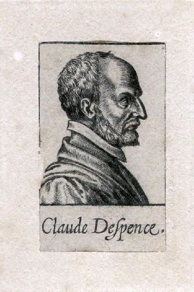 Portrait de Claude d'Espence