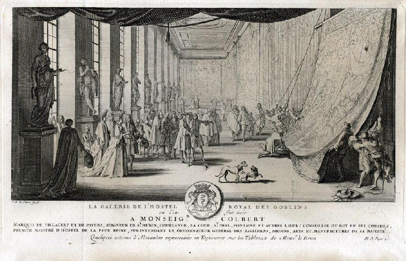 La galerie de l'hôtel royal des Gobelins