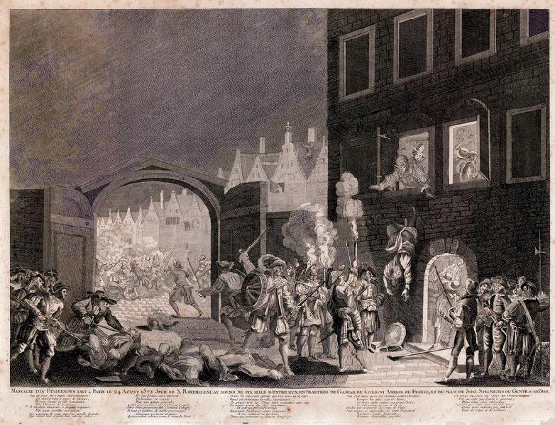 anonyme (graveur) : Le massacre de la saint Barthélémy