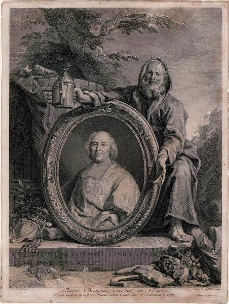 Portrait d'André Hercule, cardinal de Fleury_0