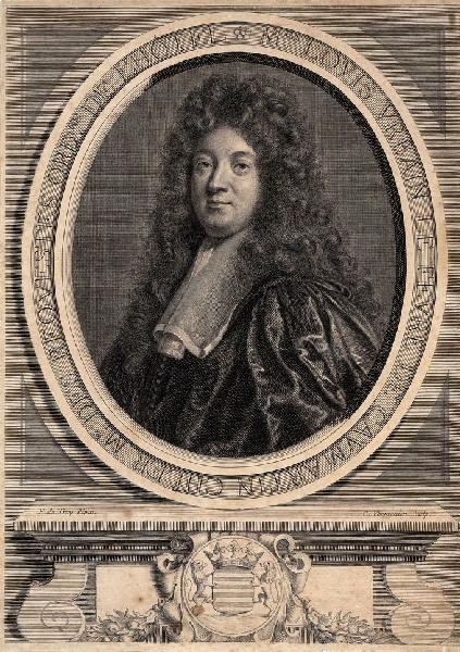 VERMEULEN Corelis Martinus (graveur), TROY François de (d'après, peintre) : Portrait de Louis Urbain Lefèvre de Caumartin