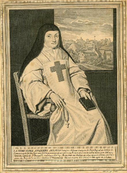 Portrait de mère Marie Angélique Arnauld