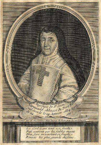 Portrait de mère Angélique de Saint Jean Arnauld