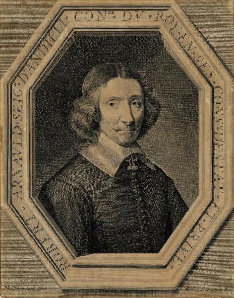 Portrait de Robert Arnauld, seigneur d'Andilly