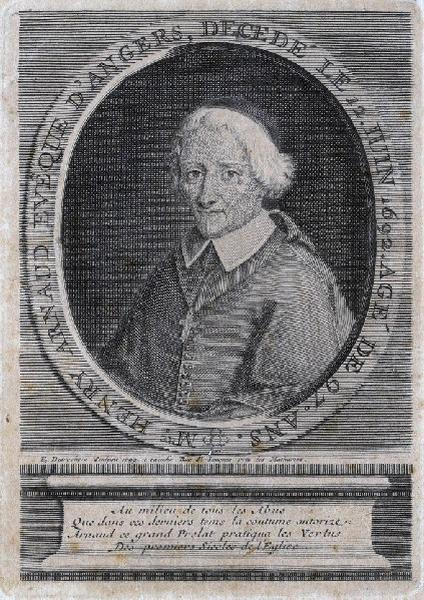 Portrait d'Henry Arnauld, évêque d'Angers_0