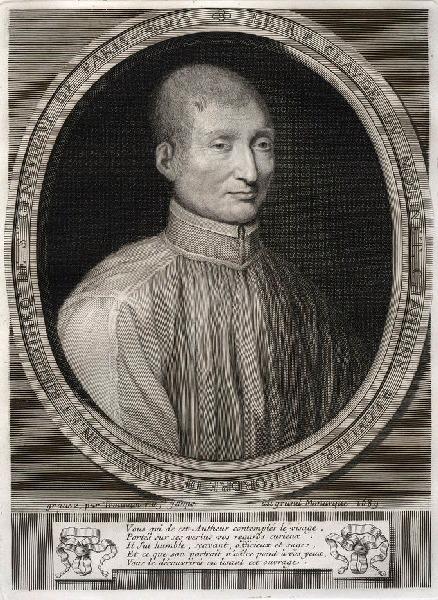 TROUVAIN Antoine (graveur) : Portrait de Claude du Molinet