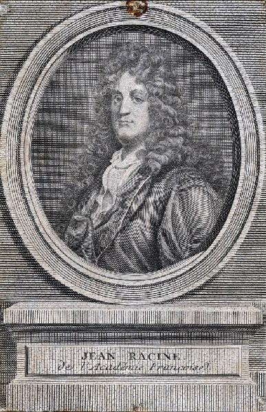 DAULLE Jean (graveur) : Portrait de Jean Racine