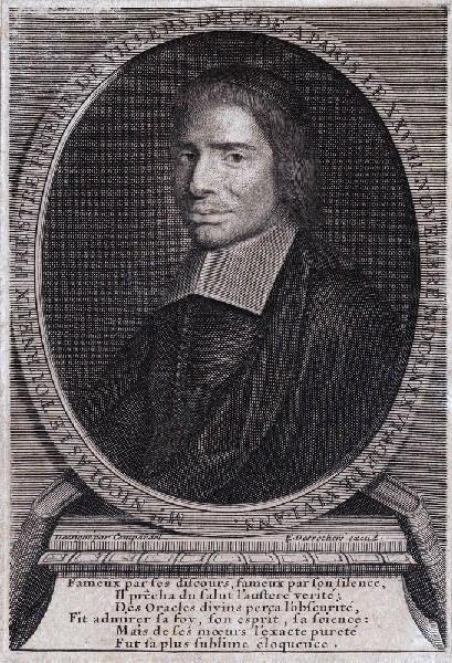 DESROCHERS Stéphane (graveur), COMPARDEL (d'après, dessinateur) : Portrait de Nicolas le Tourneux