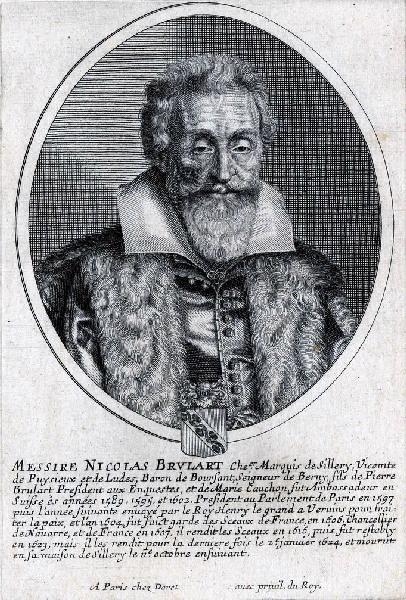 Portrait de Nicolas Brulart