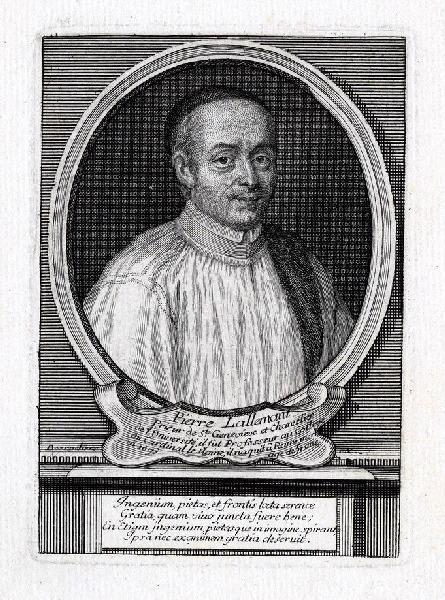 DESROCHERS Stéphane (graveur) : Portrait de Pierre Lallemant