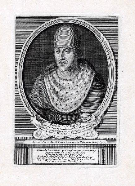 Portrait de Robert Sorbon