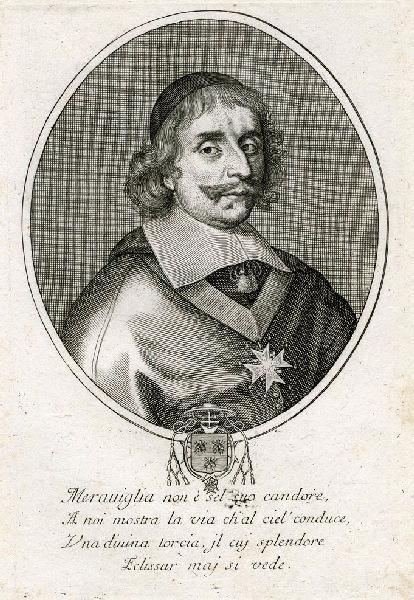 anonyme (graveur) : Portrait d'Antonio Barberini