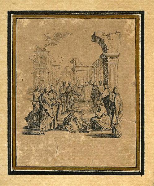 La Passion de Notre Seigneur (01) : Notre Seigneur lave les pieds à ses apôtres_0