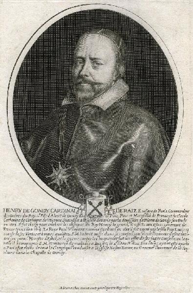 Portrait d'Henri de Gondy