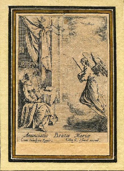 Vie de la sainte Vierge (05) ; L'archange Gabriel lui annonce qu'elle sera la mère de Dieu