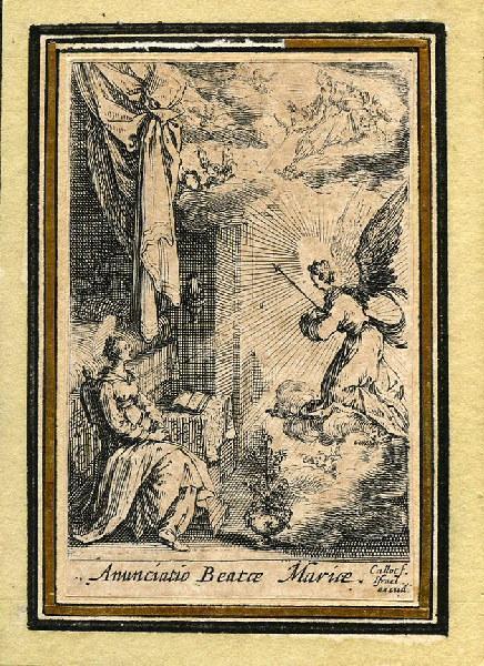 Vie de la sainte Vierge (06) ; L'archange Gabriel lui annonce qu'elle sera la mère de Dieu_0