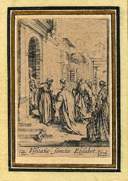 Vie de la sainte Vierge (07) ; Elle rend visite à Elisabeth_0