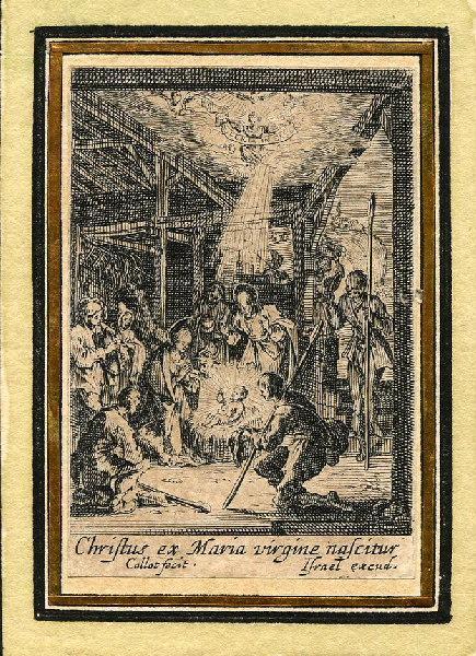 Vie de la sainte Vierge (08) ; Elle adore l'enfant Jésus nouvellement né_0