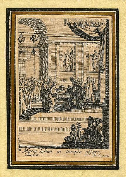Vie de la sainte Vierge (10) ; Présentation de Jésus au Temple