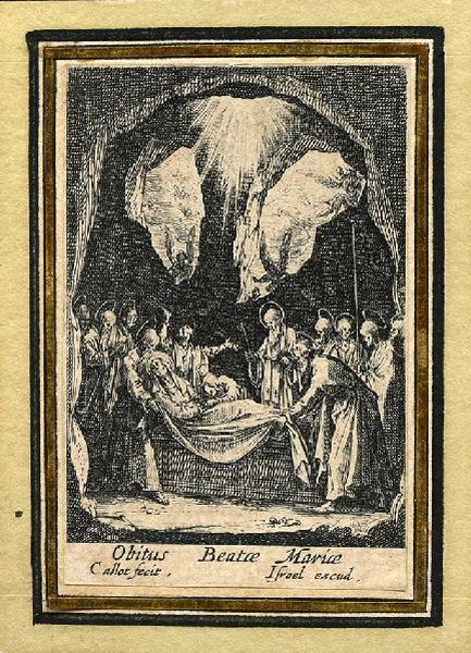 Vie de la sainte Vierge (12) ; Mort de la Vierge