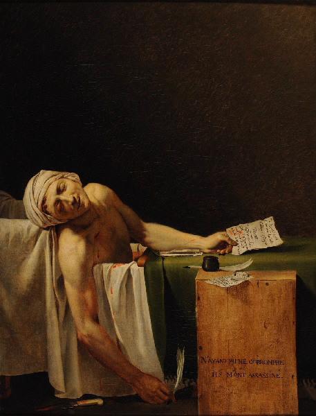 La mort de Marat (titre attribué) ; Marat expirant (autre titre) ; Marat assassiné (autre titre)_0
