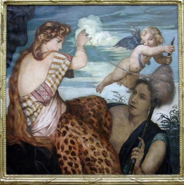BERNARD Emile (peintre) : Hercule et Omphale