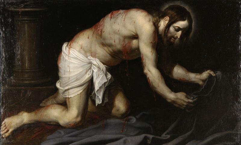 Le Christ après la flagellation_0