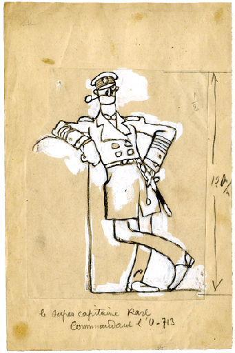 U-713 ou les gentilshommes d'infortune : Le super capitaine Karl, commandant l'U-713_0