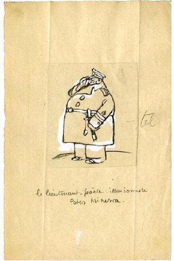 U-713 ou les gentilshommes d'infortune : Le lieutenant poète illusionniste Peter Minerva_0