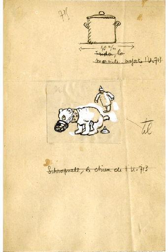 U-713 ou les gentilshommes d'infortune : Frida, la marmite major de l'U-713 ; Schrapnell, le chien de l'U-713_0