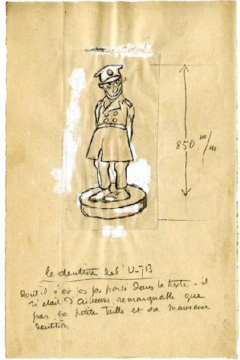 BLANCHOT Gustave (dessinateur), BOFA Gus (dit, dessinateur) : U-713 ou les gentilshommes d'infortune : Le dentiste de l'U-713