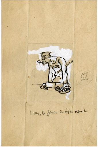 U-713 ou les gentilshommes d'infortune : Hans, le joueur de fifre apode_0