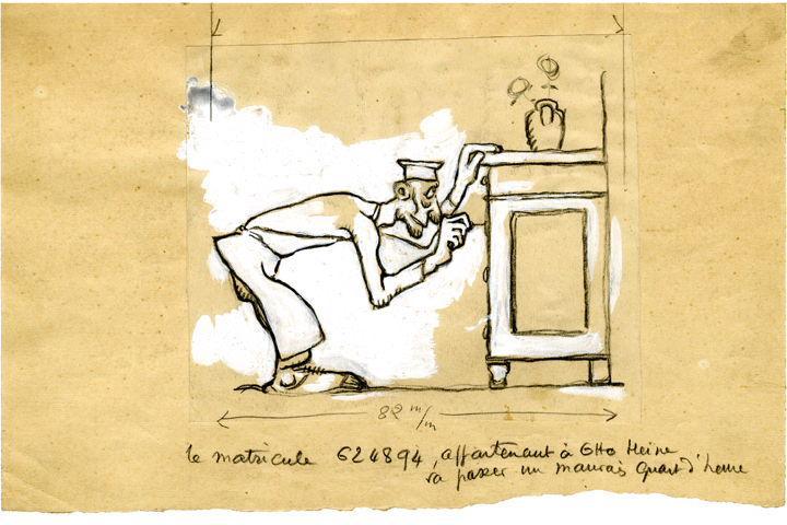 U-713 ou les gentilshommes d'infortune : Le matricule 624894 appartenant à Otto Heine, va passer un mauvais quart d'heure_0