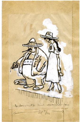 BLANCHOT Gustave (dessinateur), BOFA Gus (dit, dessinateur) : U-713 ou les gentilshommes d'infortune : La senorita vint avec son père