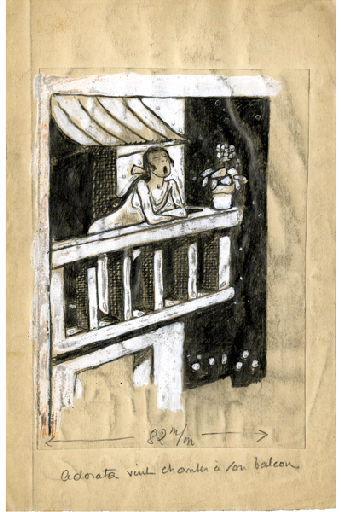 U-713 ou les gentilshommes d'infortune : Adorata vint chanter à son balcon_0